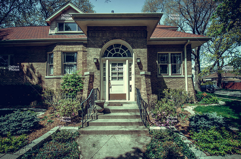 Albany Park Chicago Ravenswood Manor Bungalow