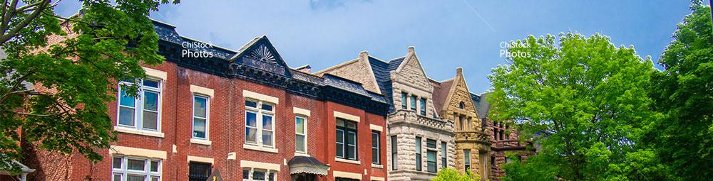 Greystones and Red Bricks In Chicago's Douglas Neighborhood