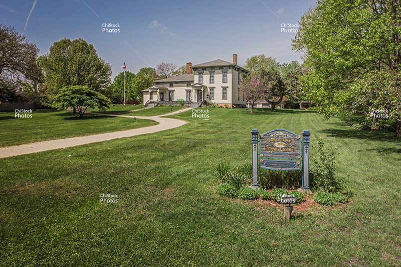 The Noble Seymour Crippen House Norwood Park Chicago