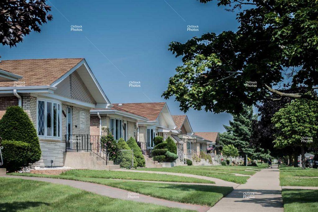 Chicago O'Hare Neighborhood Ranch Style Homes