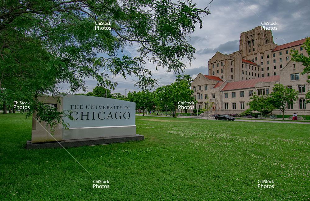 The University of Chicago Midway Plaisance Hyde Park Entrance