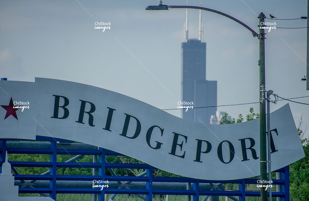 Welcome to Bridgeport Chicago Skyline In The background