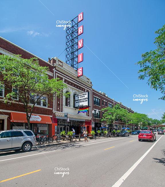Tavis Theater Lincoln Ave Lincoln Square Chicago