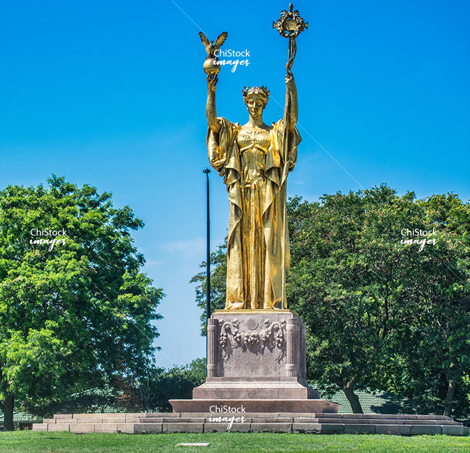 Statue of the Republic Jackson Park Woodlawn