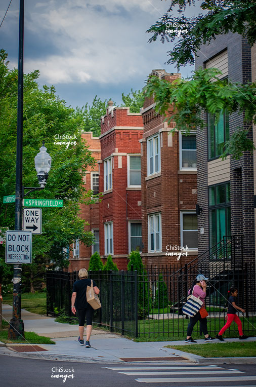 Multifamily flats on Addison in Avondale Chicago
