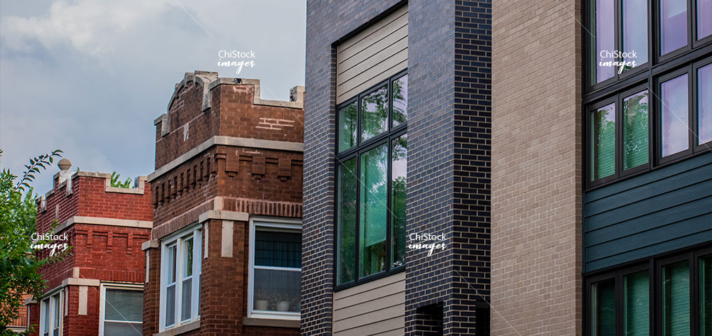 Classic Two-Flat and modern single family home in Avondale Chicago