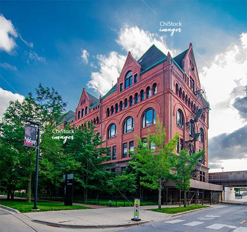 IIT Main Building Douglas neighborhood Chicago