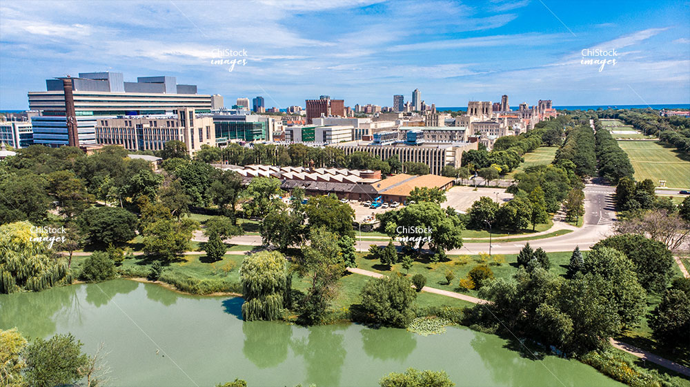 Hyde Park Midway Plaisance at The University of Chicago