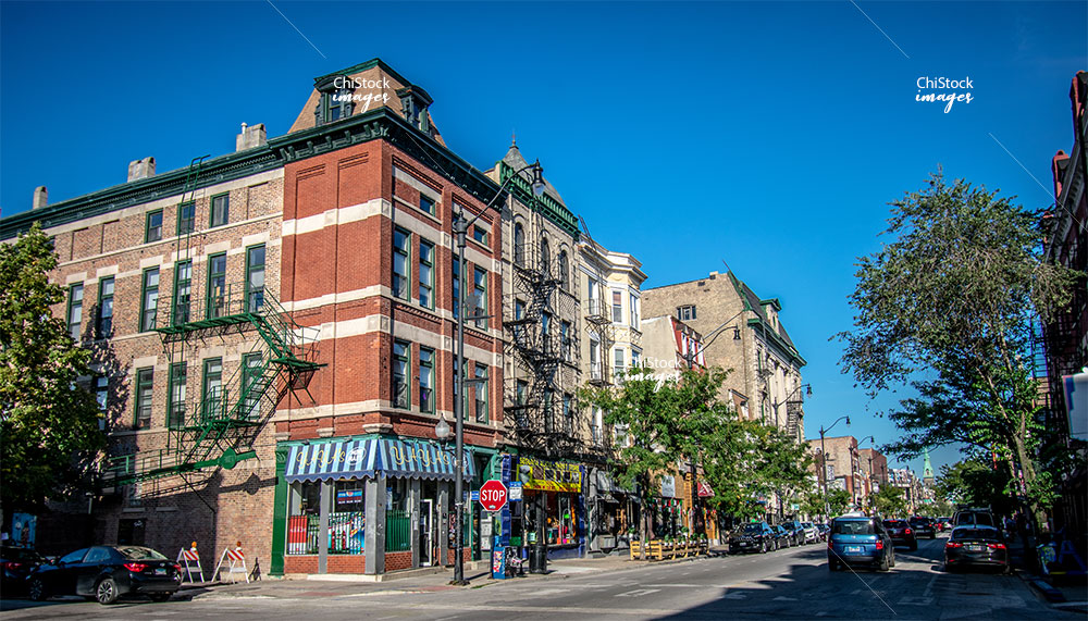 Pilsen 18th Street Architecture Lower West Side, Chicago