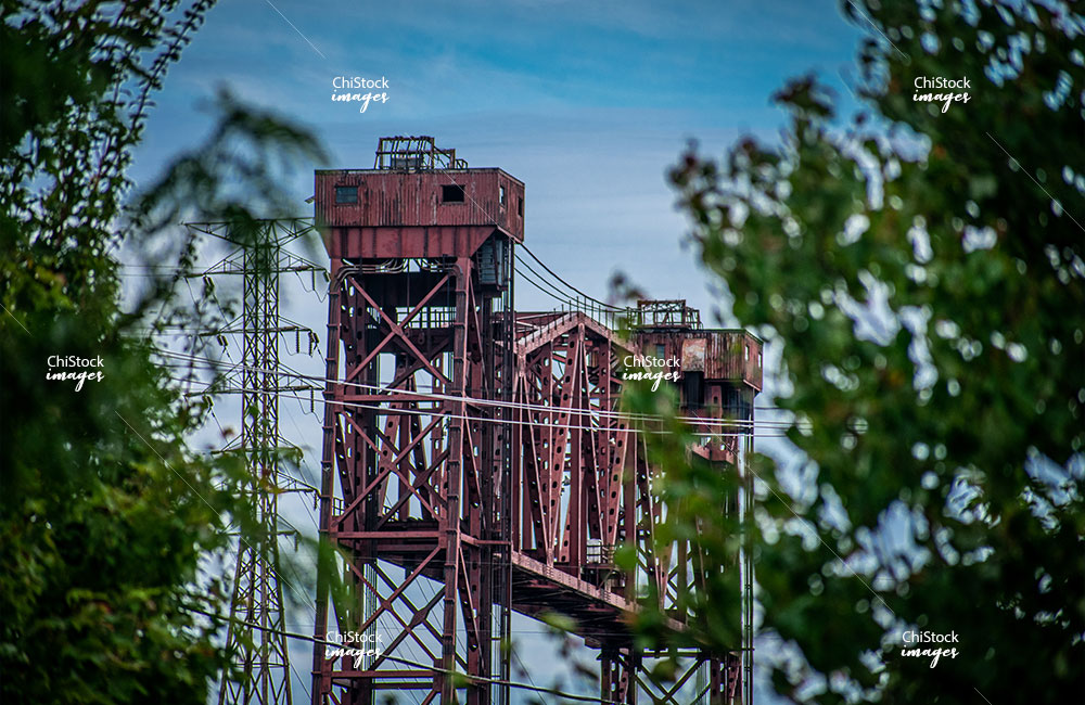 South Chicago Old Industry Along The Calumet River