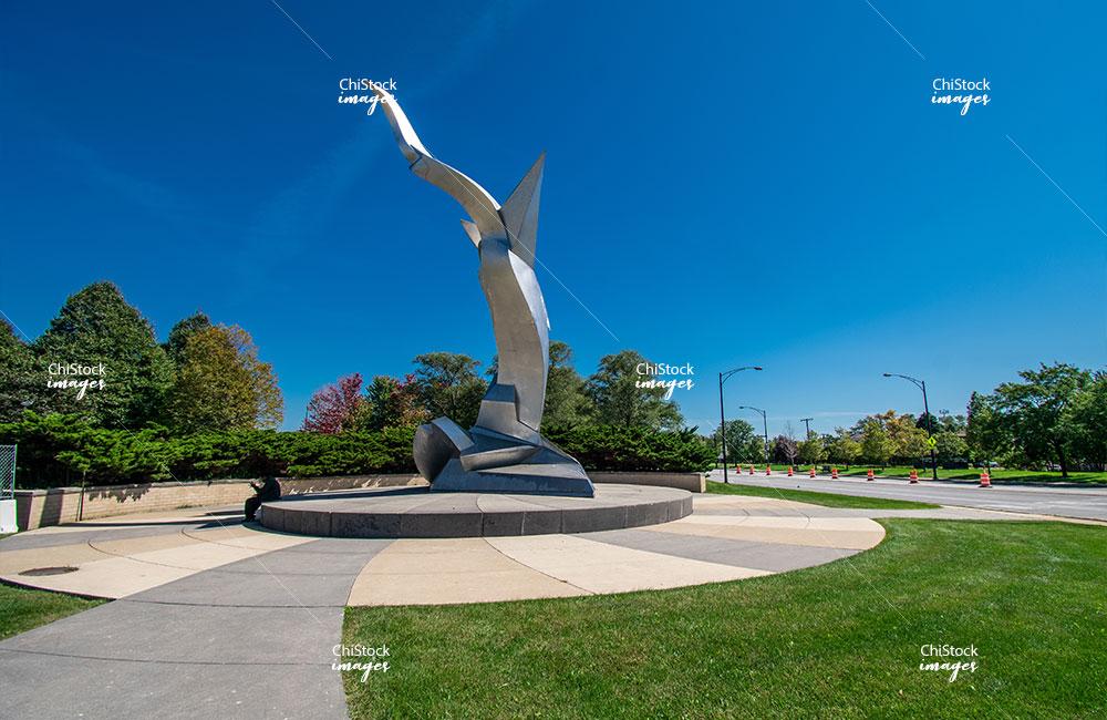 Richard Hunt's Flightforms West Elsdon, Chicago