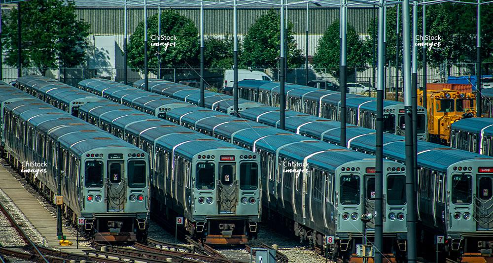Chicago Transit Authority Midway Yard West Elsdon Chicago