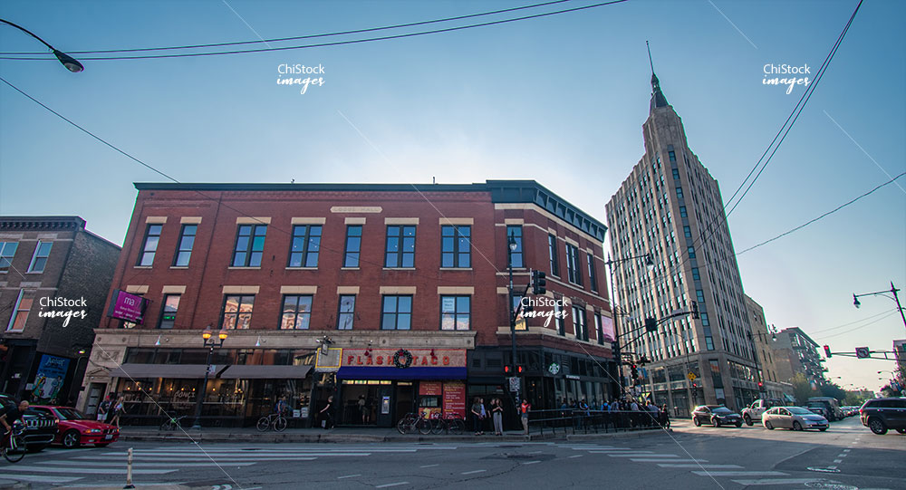 Six Corners Milwaukee Avenue Architecture Wicker Park Bucktown West Town