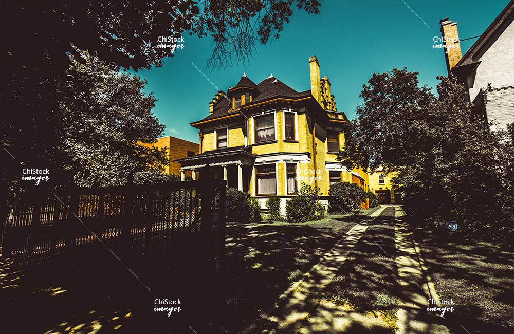 Historic Mansions in Kenwood Chicago