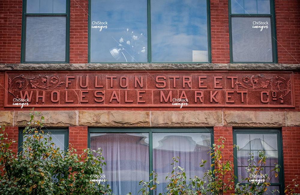Fulton Street Wholesale Market Near West Side Chicago