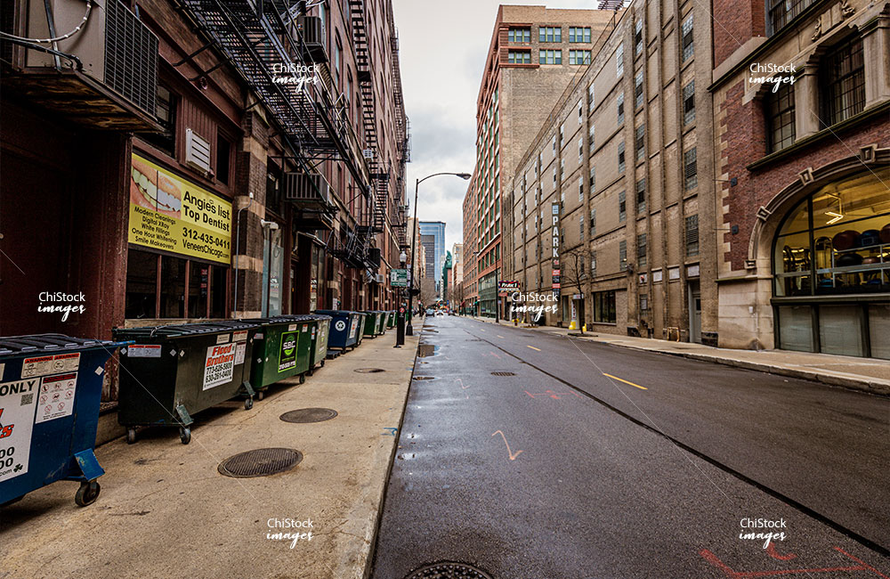 Downtown Alley Loop Chicago