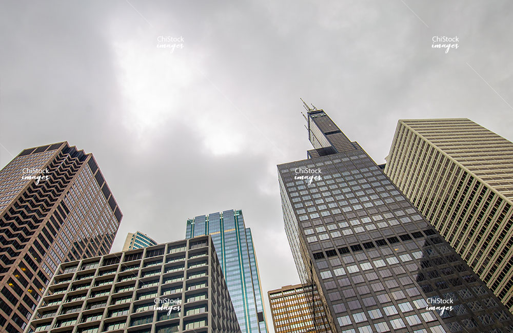 Downtown Financial District Loop Chicago