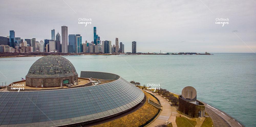 Adler Planetarium Near South Side Chicago