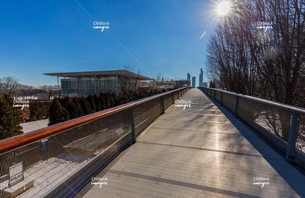 Nichols Bridgeway Millennium Park Loop Chicago