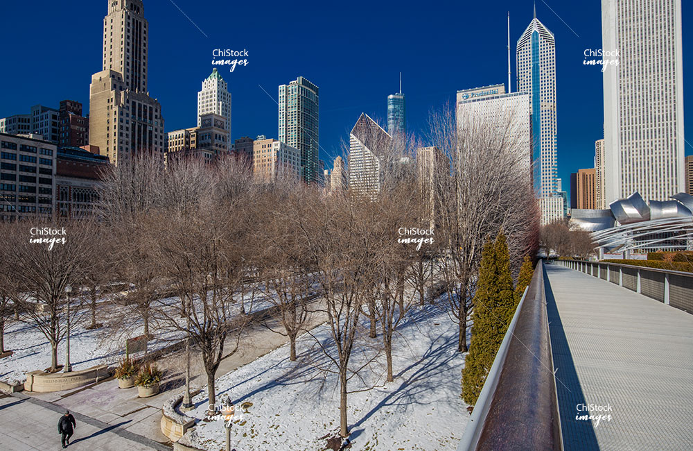 Michigan Ave Architecture Nichols Bridgeway Loop Chicago