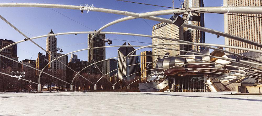 Jay Pritzker Pavilion Millennium Park Loop Chicago