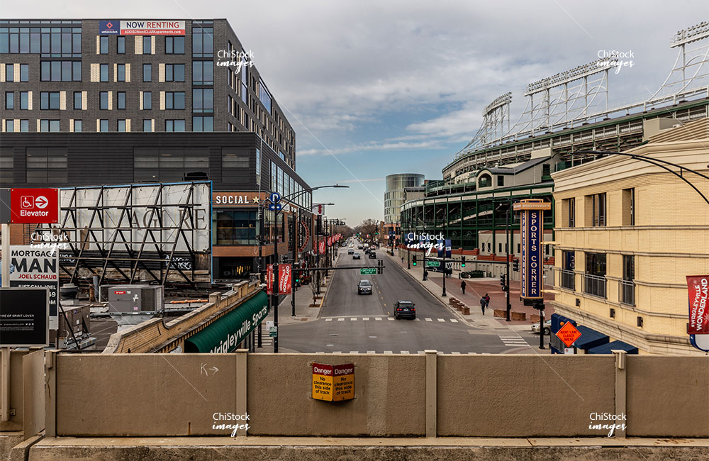 Addison CTA Station Wrigley Field Lake View Chicago