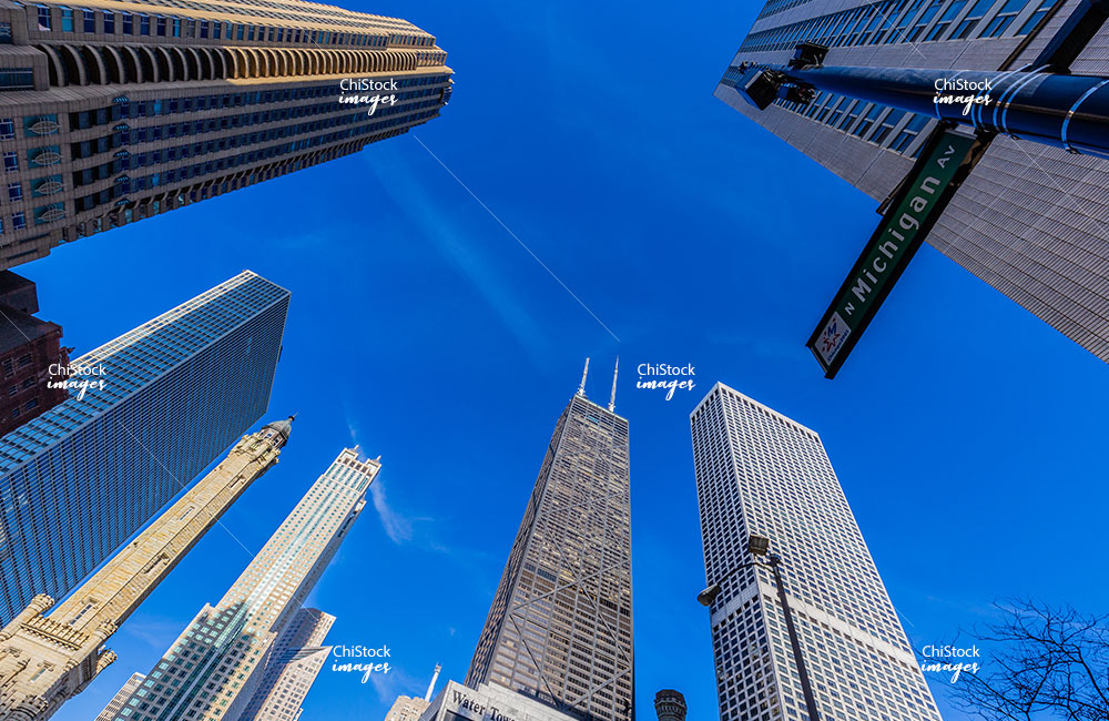 Magnificent Mile Near North Side Chicago
