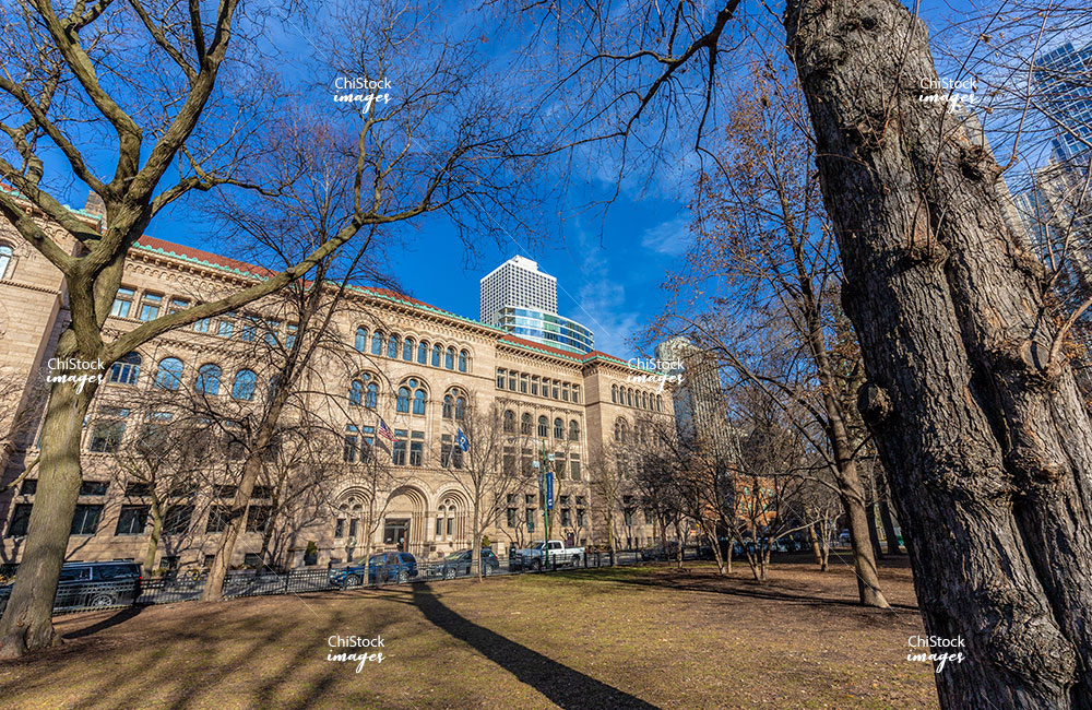 Dearborn Park Newberry Library Near North Side Chicago