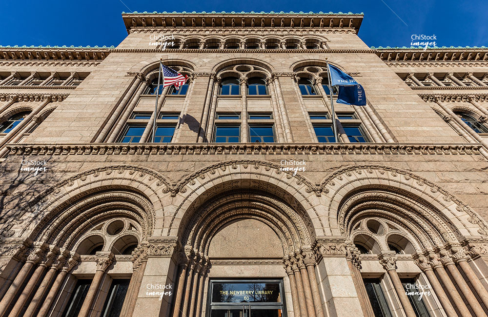Newberry Library Near North Side Chicago