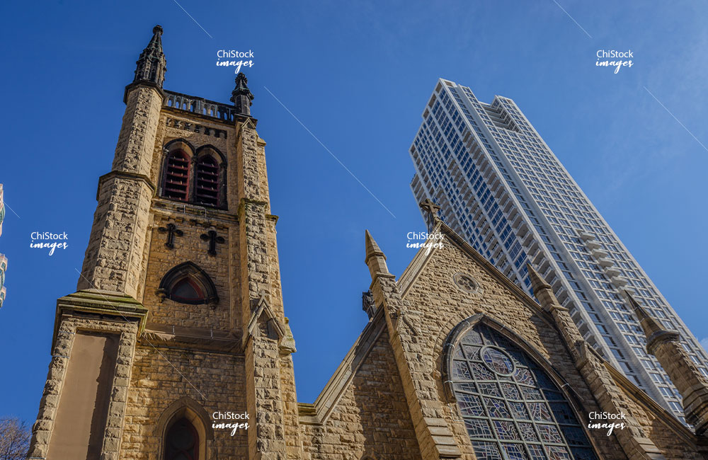 Holy Name Cathedral 55 East Erie Near North Side Chicago