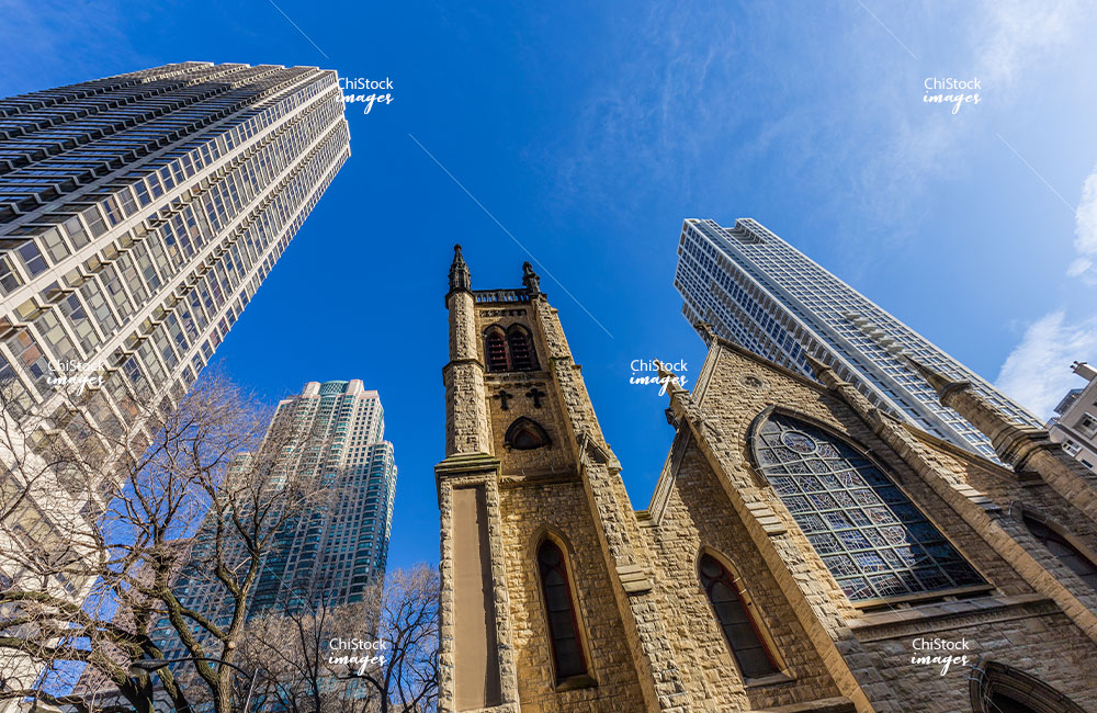 Holy Name Cathedral Near North Side Chicago