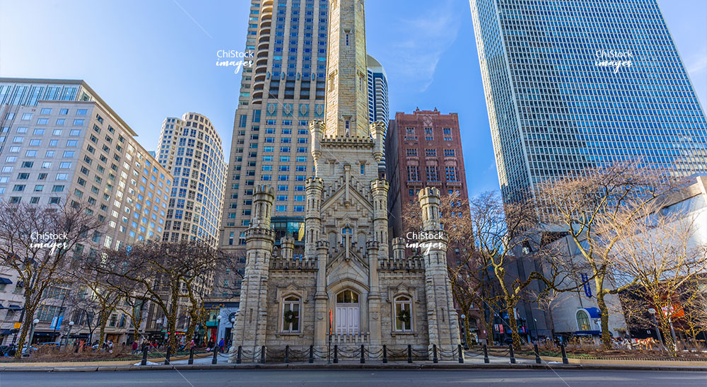 Chicago Water Tower Near North Side Chicago