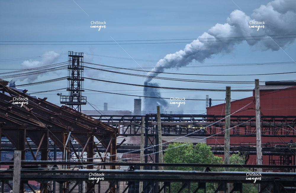 Steel Mills Near East Side Chicago