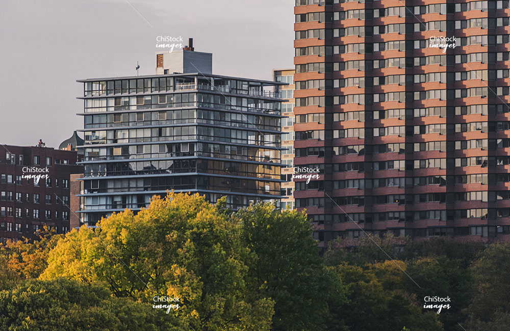 Residential High-Rise Architecture in Lincoln Park Chicago