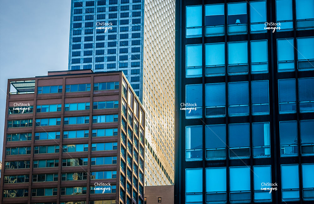 Streeterville Architecture along East Lake Shore Drive